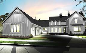 open floor plan modern farmhouse southern house plans home design
