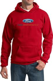 amazon com ford performance racing hooded sweatshirt pullover