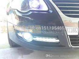 best led daytime running lights new arrival vw passat b6 led drl daytime running light front fog