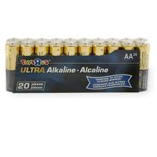 toys r us aa ultra alkaline batteries 20 pack toys