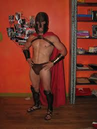 Halloween Costumes Spartan Brain Leaks Drops Drip Projects 300
