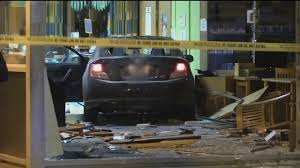 charged for crashing stolen car into library after boy 14