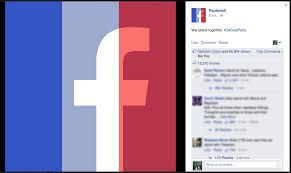 Image Of French Flag You Can Now Add A Facebook Profile Filter To Show Solidarity With