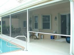 Outdoor Patio Roll Up Shades by Roll Up Insect Screen Promenade Site 16