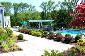 Inground Pool Landscaping Ideas Decoration Drop Dead Gorgeous How Landscape Around Inground Pool