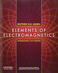 elements of electromagnetics amazon co uk matthew n o sadiku