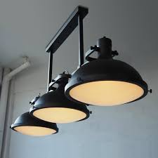Black Pendant Ceiling Light Retro Vintage 3 Lights Black Pendant Lights Loft Industral