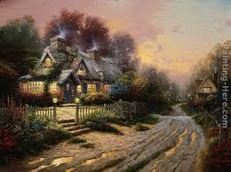586 best kinkade painter of light images on
