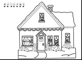 coloring pages gingerbread house coloring pages childs
