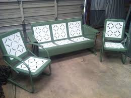 Vintage Patio Furniture Metal by Best 25 Metal Lawn Chairs Ideas On Pinterest Old Metal Chairs