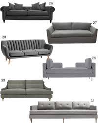 grey sofa modern get the look 60 modern grey sofas
