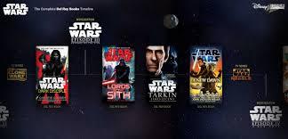 printable star wars novel timeline del rey debuts interactive star wars books timeline