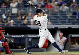 Aaron Judge Breaks Joe Dimaggio S Yankees Rookie Home Run Record - aaron judge will obliterate yankees rookie home run record tsl
