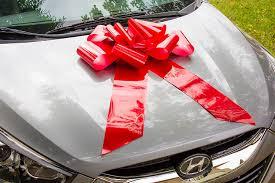 car ribbon ribbon large car bow ribbon large