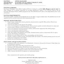 examples salary requirements resume format examples of cover letters with salary requirements