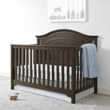 Walnut Nursery Furniture Sets by Amazon Com Eddie Bauer Hayworth 4 1 Convertible Crib Weathered