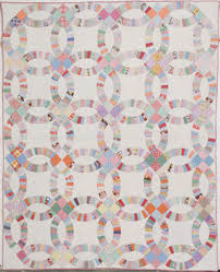 Double Wedding Ring Quilt by Free Wedding Quilt Patterns The Quilting Company