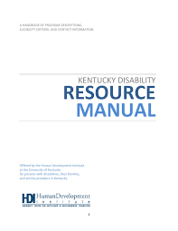 kentucky disability resource manual by wku issuu