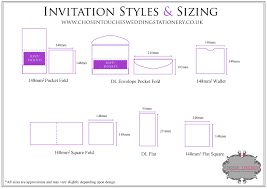 wedding invitations size wedding invitation sizes redwolfblog