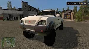 mitsubishi gold mitsubishi truck v1 0 fs 17 farming simulator 17 mod fs 2017 mod