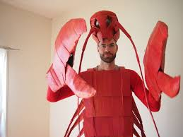 lobster costume costume the cardboard collective