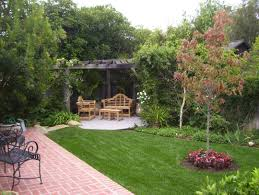 Small Space Backyard Landscaping Ideas by Simple Front Garden Ideas For Small Space Of Country House Kitchen