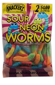candy wholesale snackerz sour neon worms 1 75oz 2 for 1 candy wholesale vk wholesale