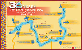 Oregon Trail Maps by Nez Perce National Historic Trail Home