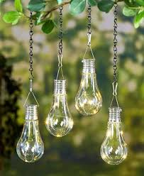 Solar Lights For Patio Set Of 2 Led Hanging Solar Light Patio Yard Porch Garden Outdoor