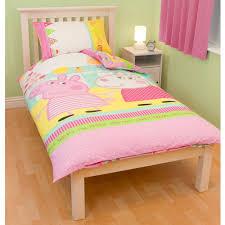peppa pig bedding u0026 bedroom decor duvets wall stickers lighting