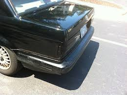 Bmw E30 Rear Valance Diy Howto Tuck Metal Bumpers 88 Bmw 325e E30 Performance