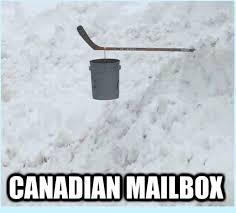 Canadian Meme - canadian mailbox meme