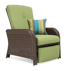 Recliner Patio Chair La Z Boy Outdoor Sawyer Resin Wicker Patio Furniture