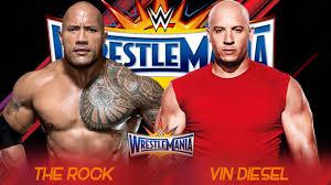 john cena birthday card the rock vs vin diesel wrestlemania 33 promo hd youtube