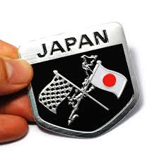 suzuki symbol online shop 4pcs lot japanese flag emblem badge car motorcycle