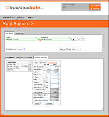 truckload fuel surcharge table truckloadrate com truck freight rates fuel surcharge total