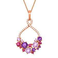 pink jewelry necklace images Rose gold jewelry jpg