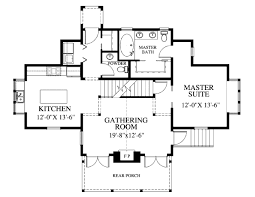 Seaside House Plans by Craftsman Style House Plan 3 Beds 3 00 Baths 2064 Sq Ft Plan 426 9