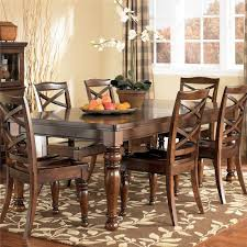 ashley dining room furniture set amusing ashley furniture porter rectangular extension dining table