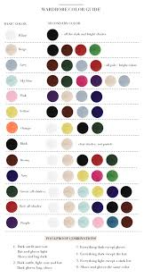 for clothes figure out which colors to wear with each other chart woman