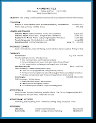 Resume Samples General Contractor by Resume Self Employed Contractor