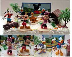 halloween mickey mouse background amazon com mickey mouse clubhouse birthday cake topper featuring