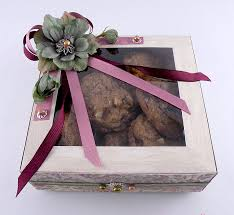 cookie box favors cookie box