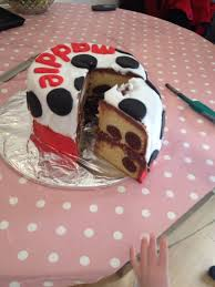 101 dalmation cake u0027chocolate cake pop u0027 spots cake