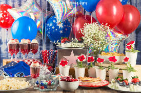 Memorial Day Decor A Memorial Day Party With Balloon Time Get These Cute Recipes And