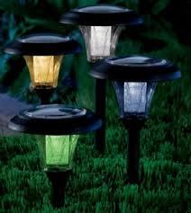 multi colored solar garden lights multicolored solar garden light home garden pinterest solar