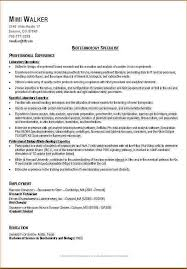Student Resume Samples by Good Resume Examples For College Students