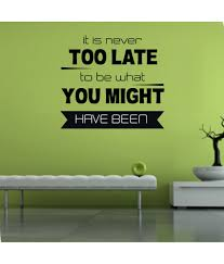 Snapdeal Home Decor 69 Off On Decor Kafe Black Wall Stickers On Snapdeal Paisawapas Com