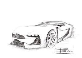 citroen concept car sketch by vladbucur on deviantart