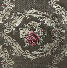 Vintage Floral Upholstery Fabric Sofa Fabric Upholstery Fabric Curtain Fabric Manufacturer Jacquard